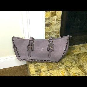 Grey,gently loved shoulder handbag